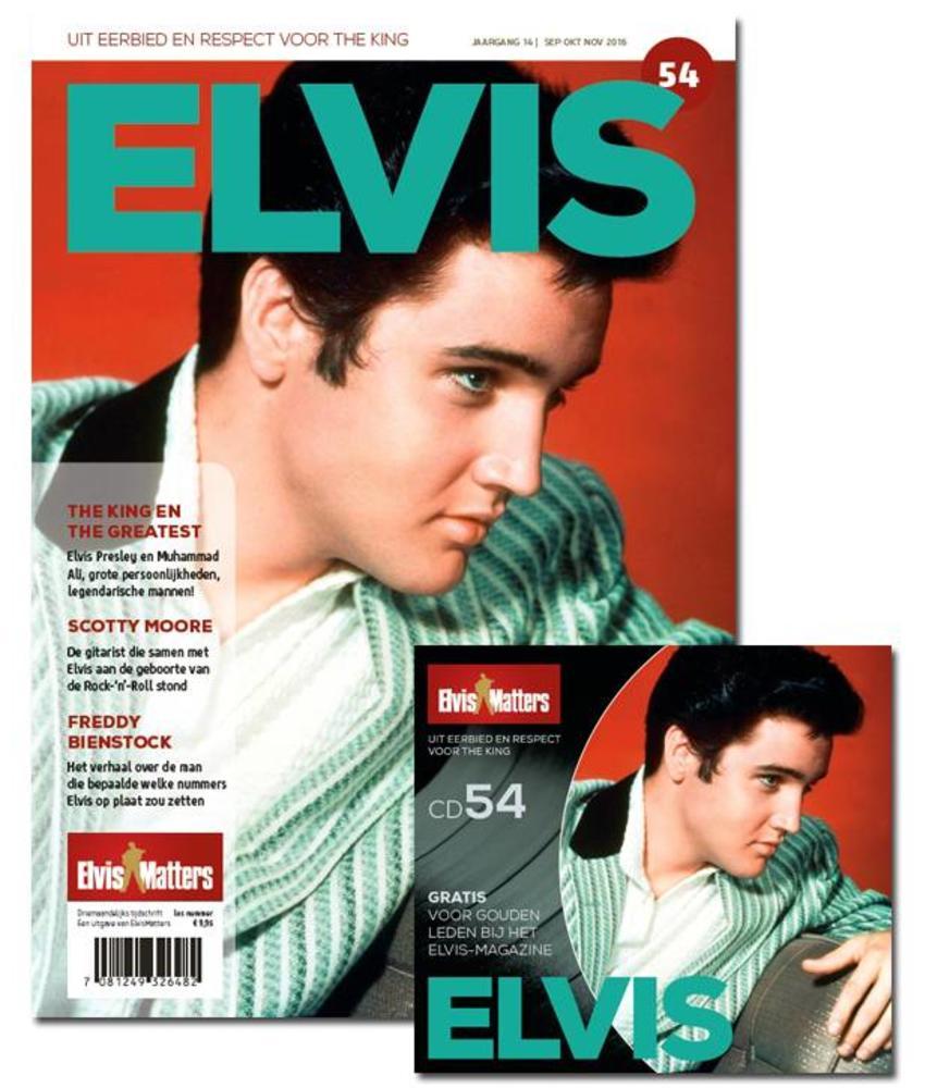 Magazine met CD - ELVIS 54
