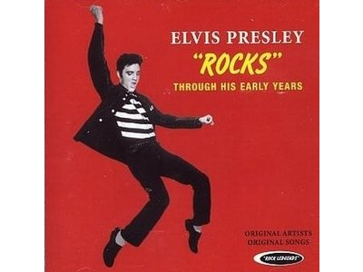 CD - Elvis Rocks - Through His Early Years