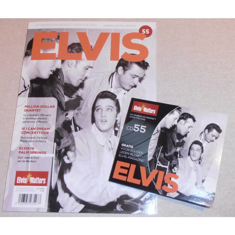 Magazine CD - ELVIS 55