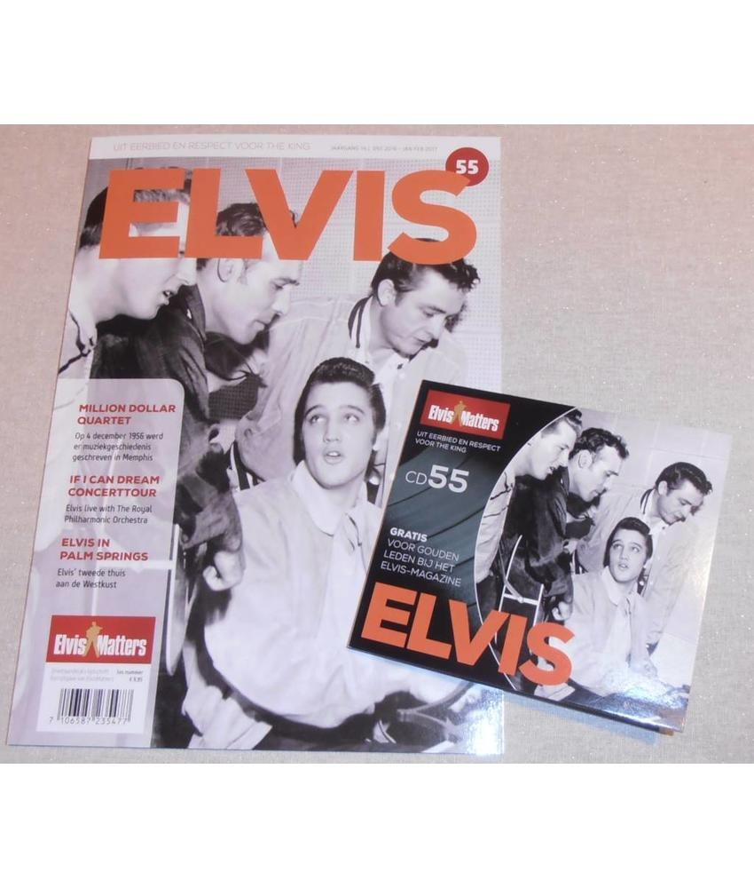 Magazine met CD - ELVIS 55