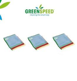 Greenspeed Set 12 microvezeldoeken 'Basic'