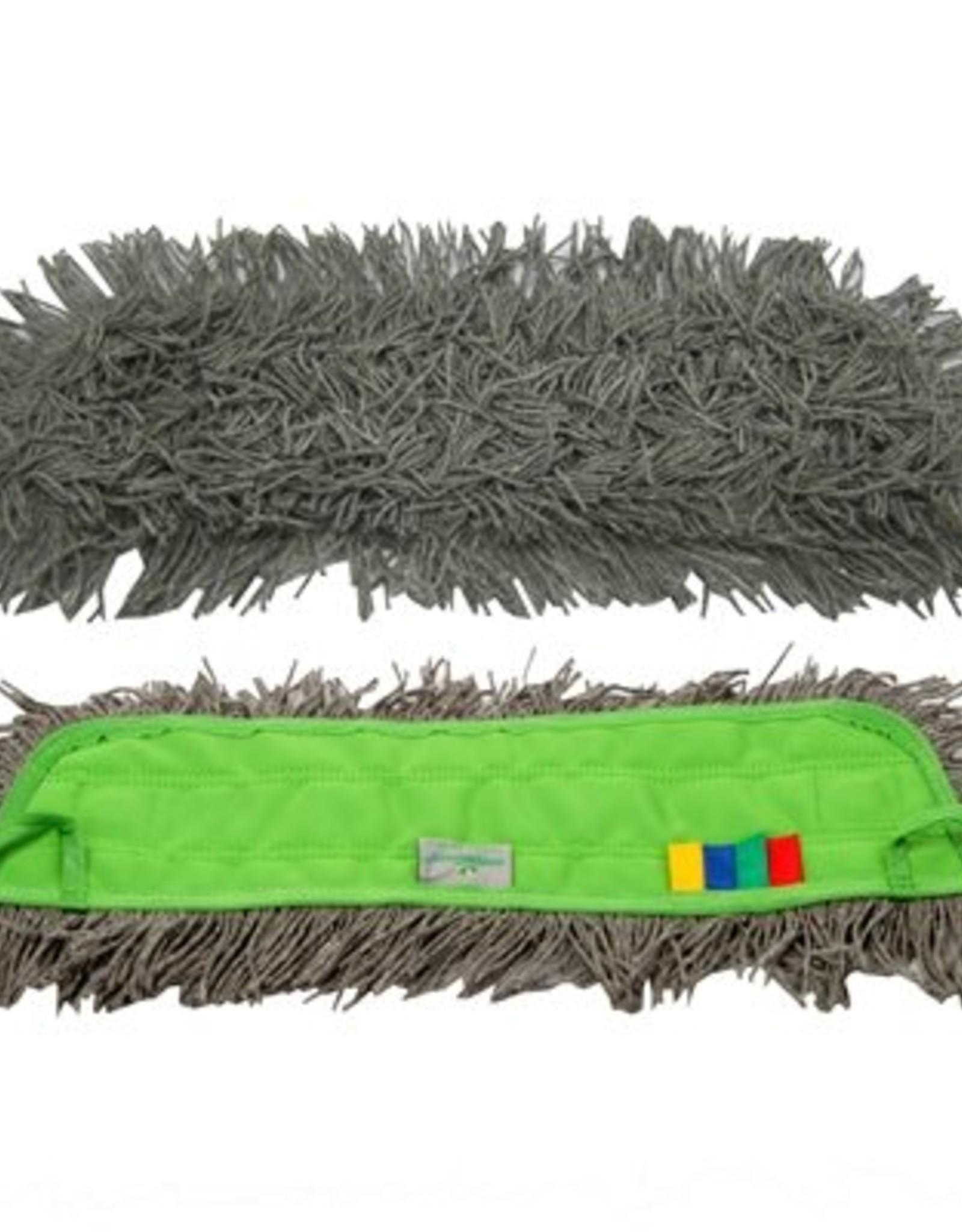 Greenspeed Click 'm mop allround voor stofwissen en lichtvochtig dweilen.