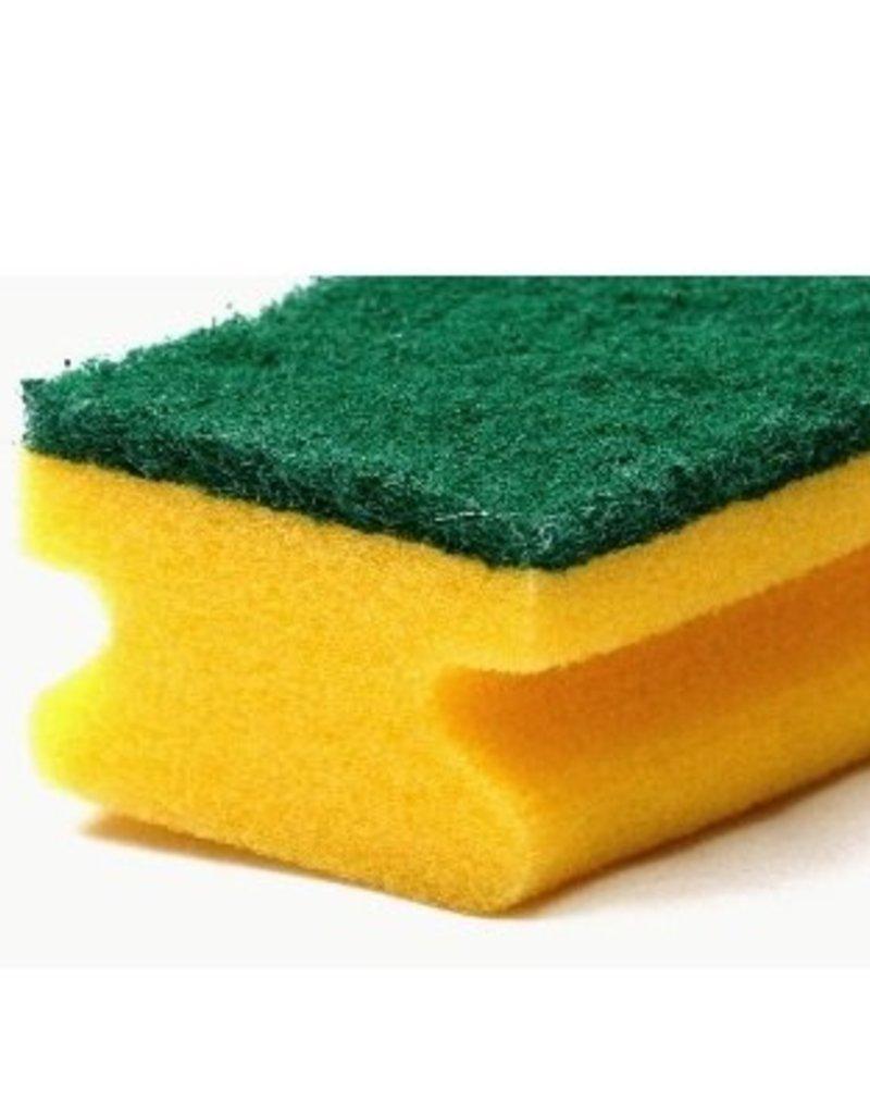 Wecoline Schuurspons met groen schuurvlak