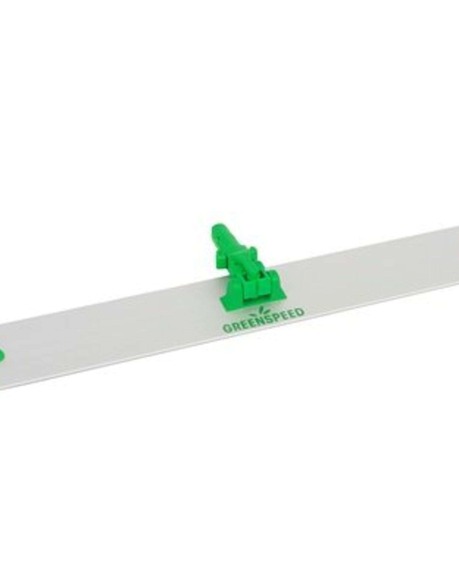Greenspeed Vlakmopplaat Velcro, past op elke Greenspeed steel