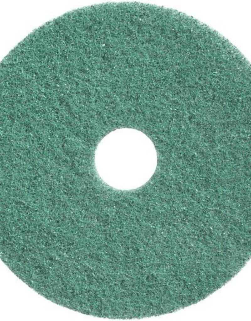 Wecoline Twister schuurpad groen, set van 2