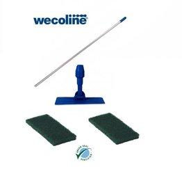 Wecoline Set Doodlebug, ideale schuurspons op steel