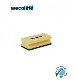 Wecoline Schuurspons groen 14x7 cm (5 stuks)