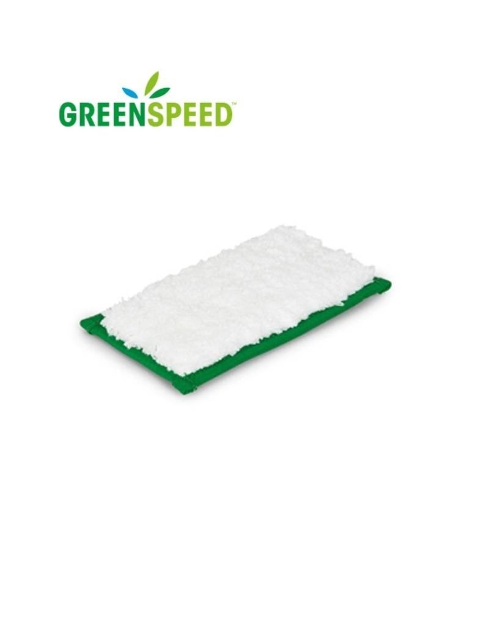 Greenspeed Minipad wit, voor het plaatselijk verwijderen van vlekken uit tapijt/textiel