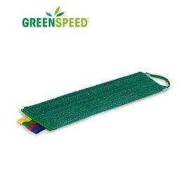 Greenspeed Twistmop Velcro Groen, alle harde vloeren