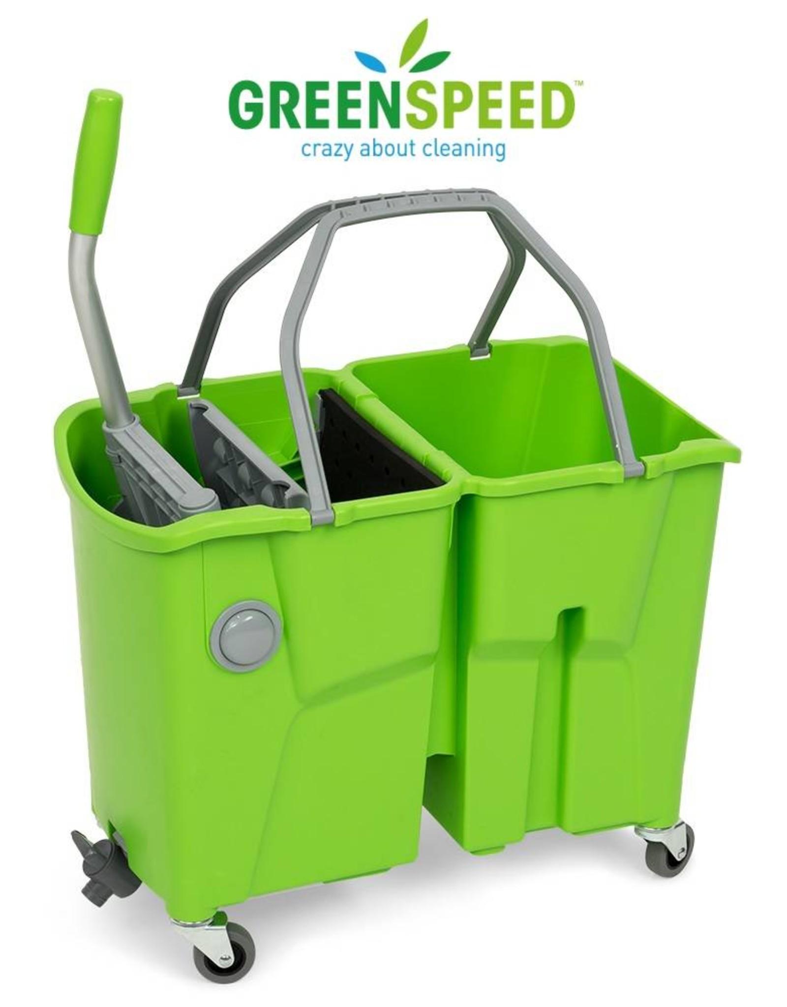 Greenspeed Complete mopemmer-set met dubbele mopemmer van Greenspeed.