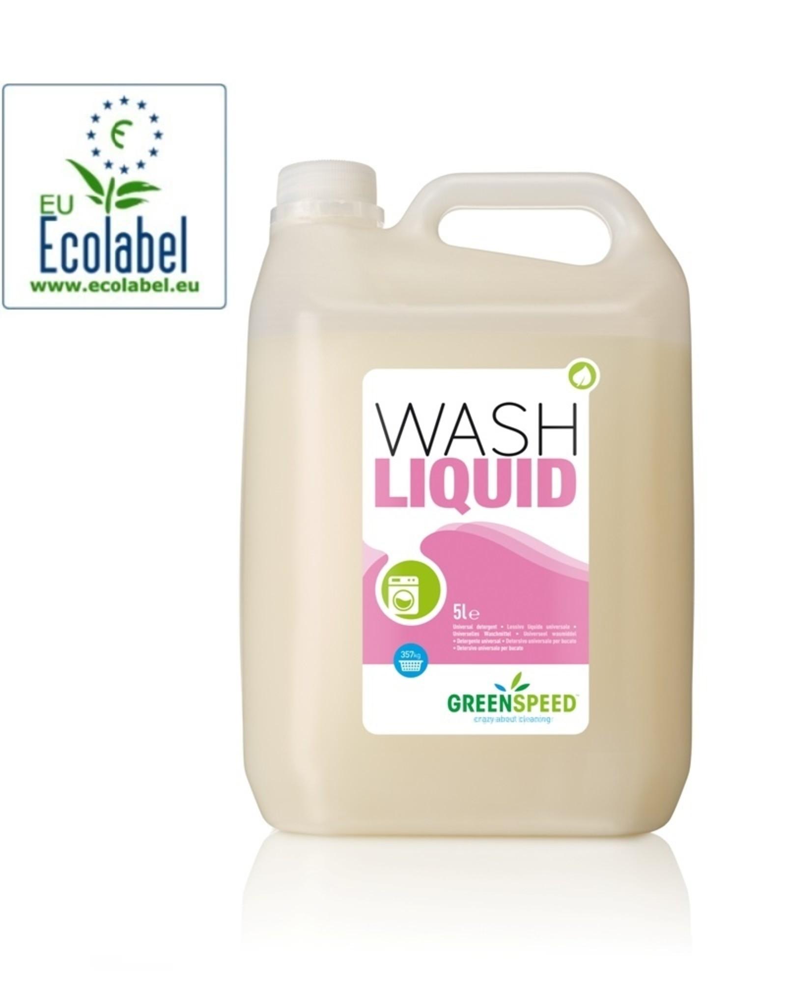 Ecologisch vloeibaar wasmiddel.  Uitstekende vlekverwijdering, ook bij lage temperaturen.