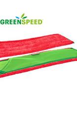 Greenspeed Click'mC Twistmop rood 50 cm lengte