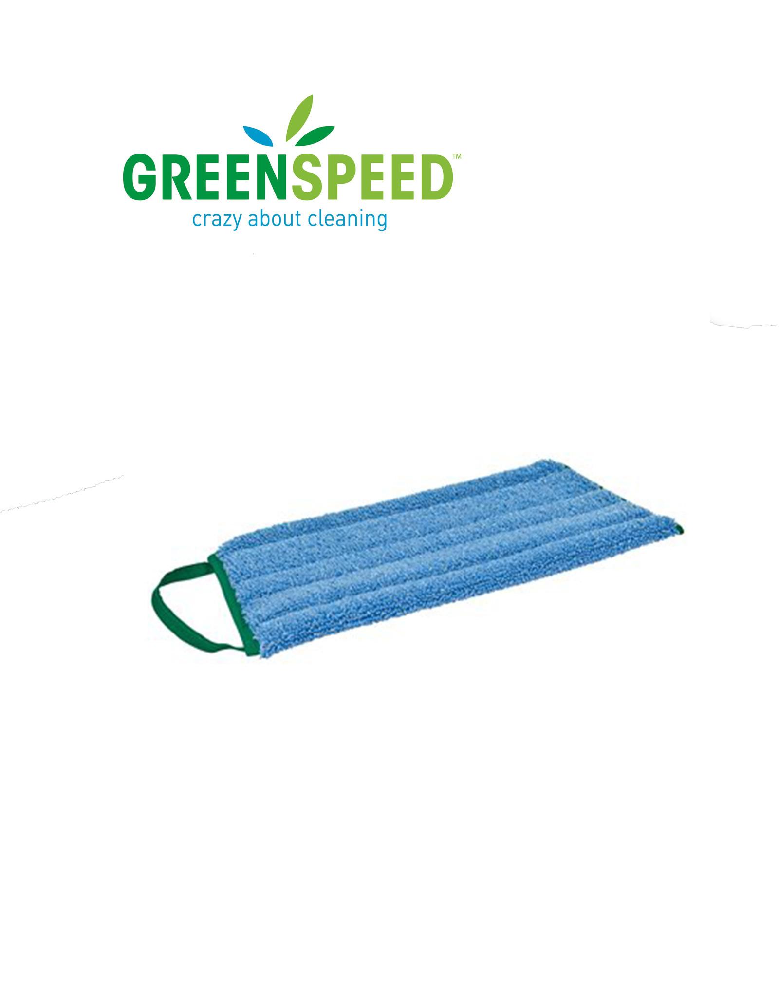 Greenspeed Twistmop Velcro blauw, alle harde vloeren