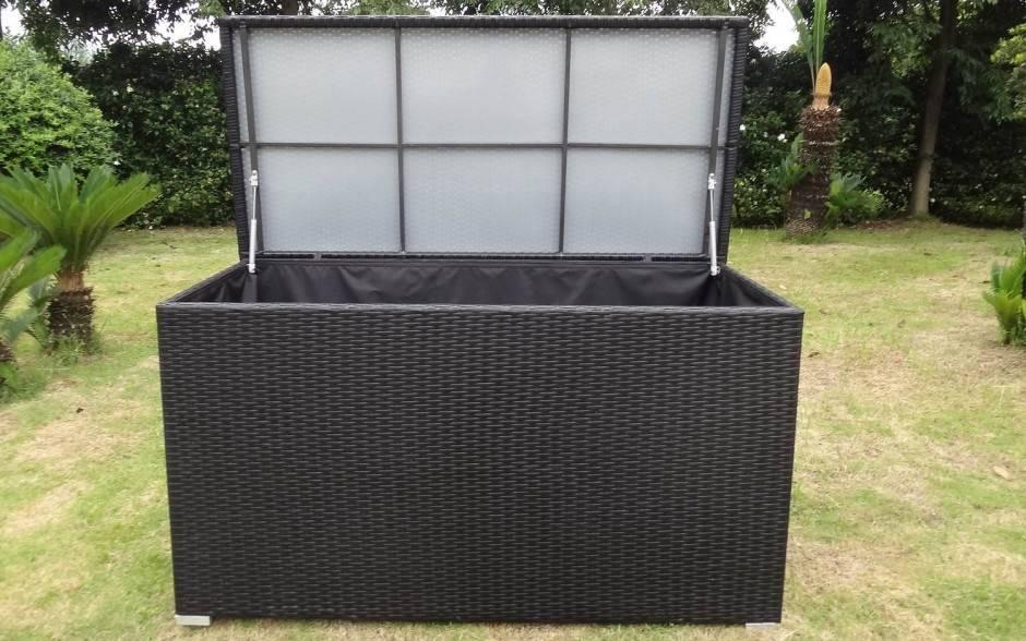 Kussenbox 150 Cm.Kussenbox Medium Zwart Vhcollection