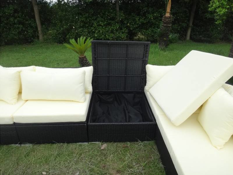 "Loungeset "" Eastside Zwart """