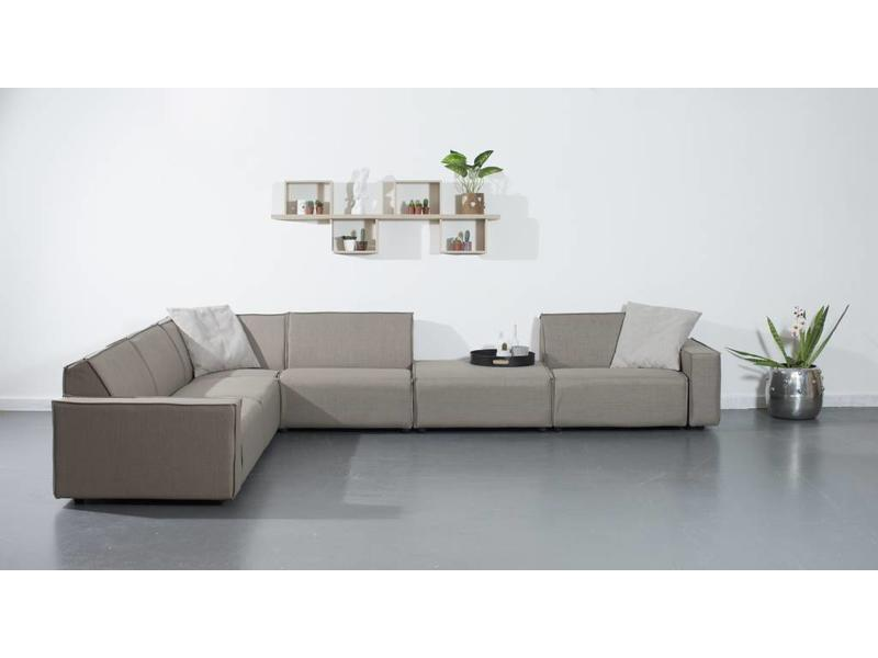 All weather Loungeset 291x383 cm - Taupe's Touch