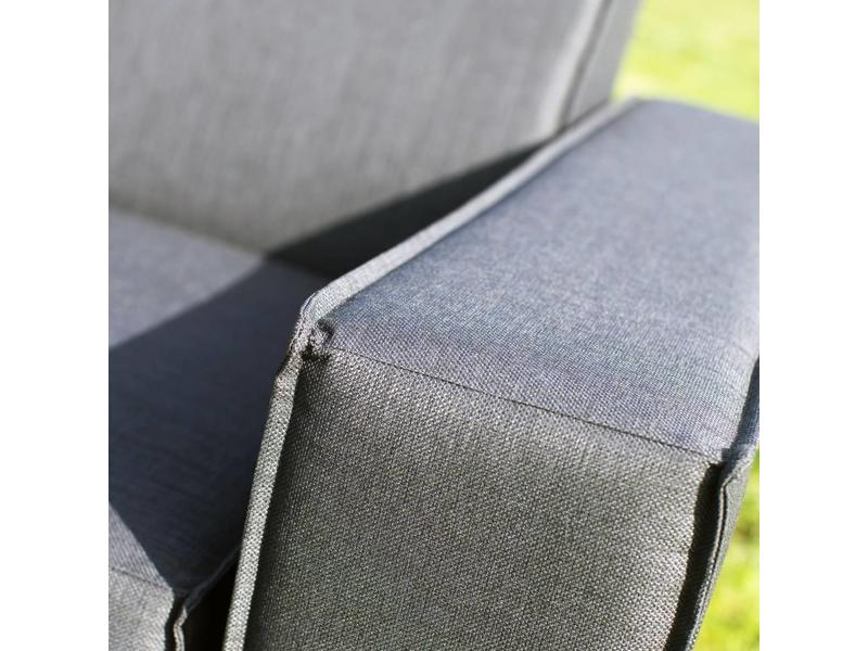 All weather Loungeset + H 220 cm - Cacao Grey