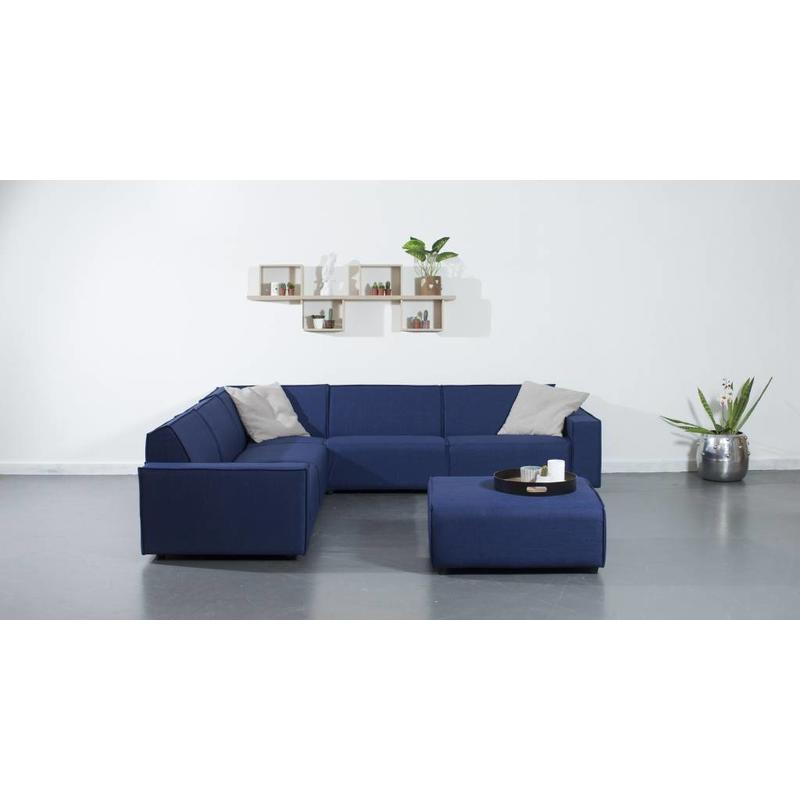 All weather Loungeset + H 291x291 cm - Denim Drift