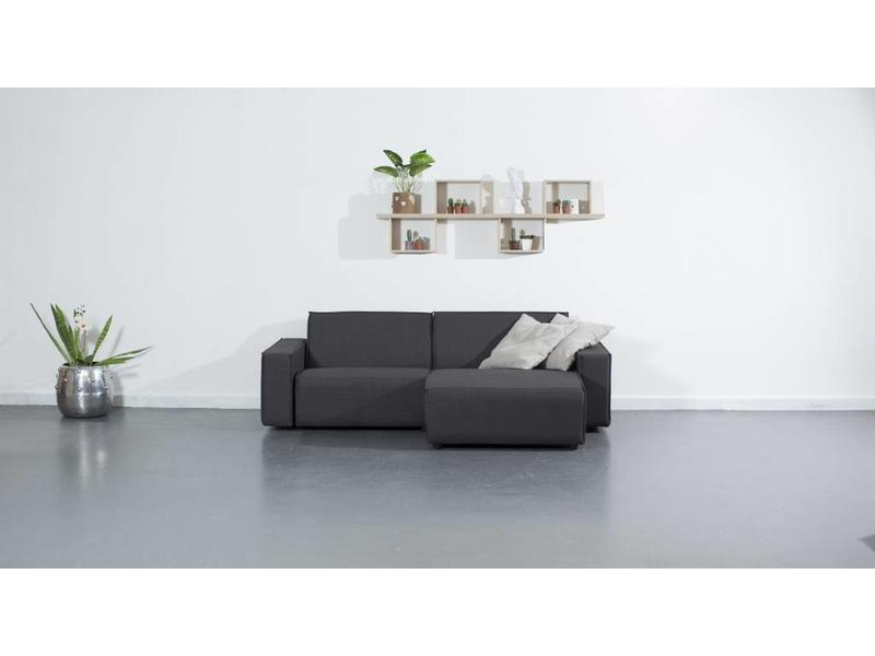 All weather Loungeset R 228x150 cm - Cacao Grey