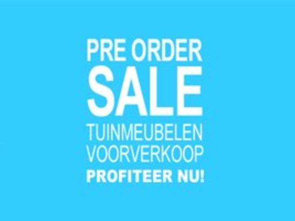 Pre-order Sale tuinmeubelen
