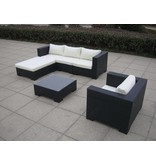 "Loungeset "" Daydreamer Zwart """