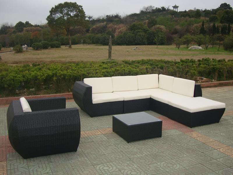 "Loungeset "" Eternity Zwart """