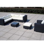 "Loungeset "" Gardendream Zwart """