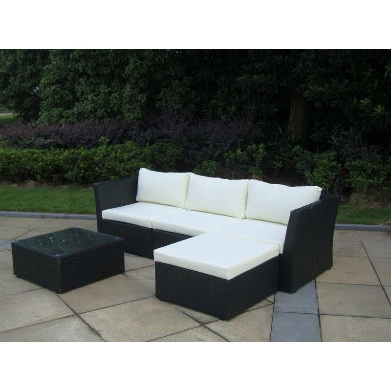 "Loungeset "" Starlight Zwart """