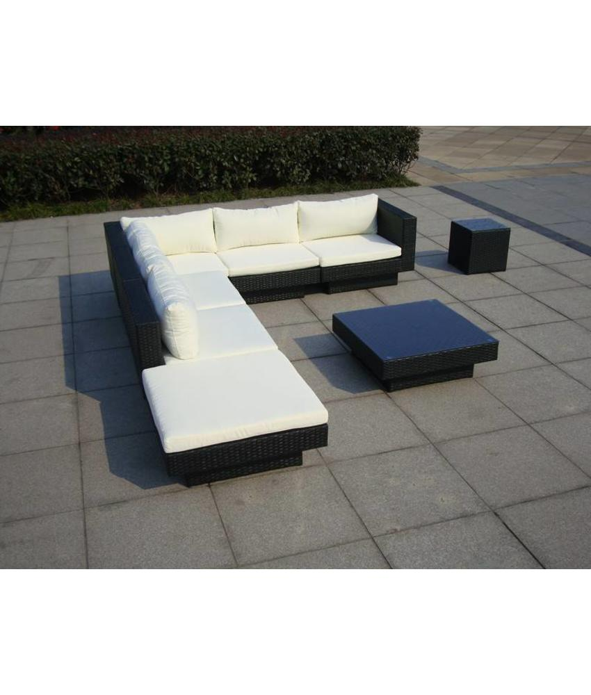 "Loungeset "" Summerdream Zwart """