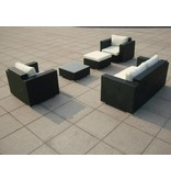 "Loungeset "" Sundream Zwart """