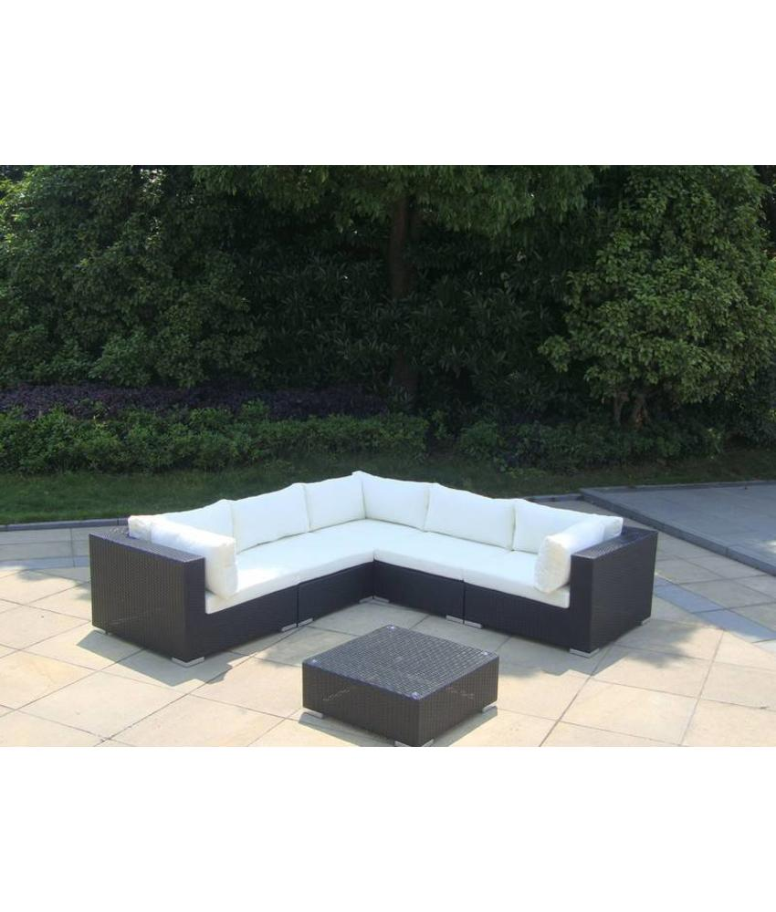 "Loungeset "" Sunshine Zwart """