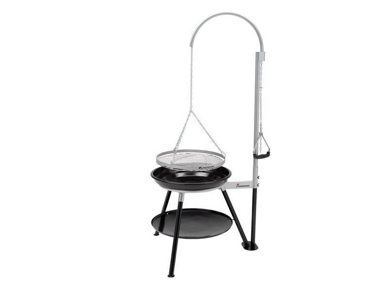 "Barbecue "" Tripod Swing Geos Black """