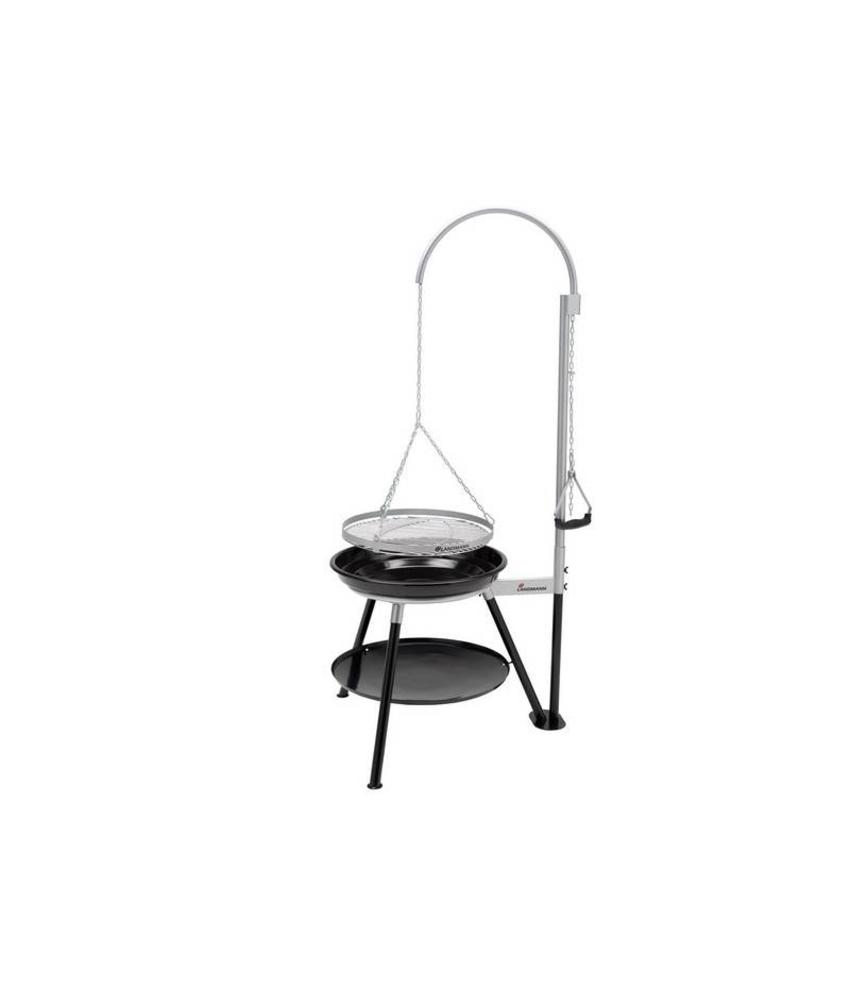 "Barbecue "" Tripod Swing Geos Black """