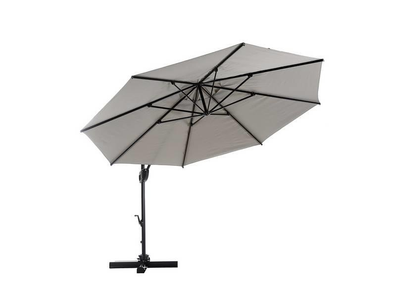 "Parasol "" Fehmarn 3,5 m Taupe """