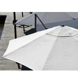 """Parasol """" Juist 3,0 m Grijs """""""