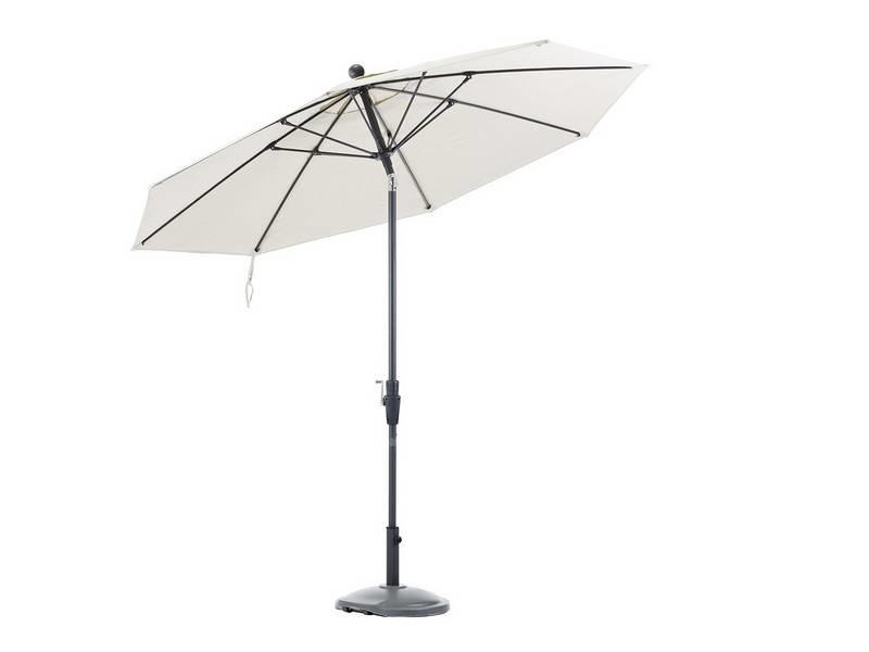 """Parasol """" Hiddensee 2,7 m Beige """""""