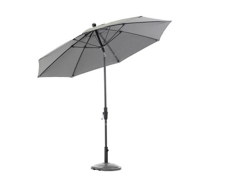 "Parasol "" Hiddensee 2,7 m Grijs """