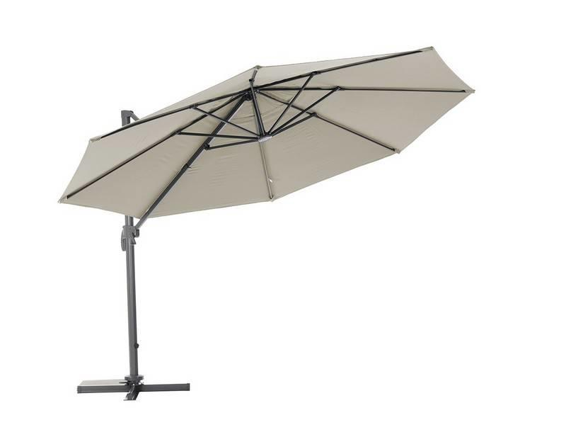 "Parasol "" Poel 3,5 m Taupe """