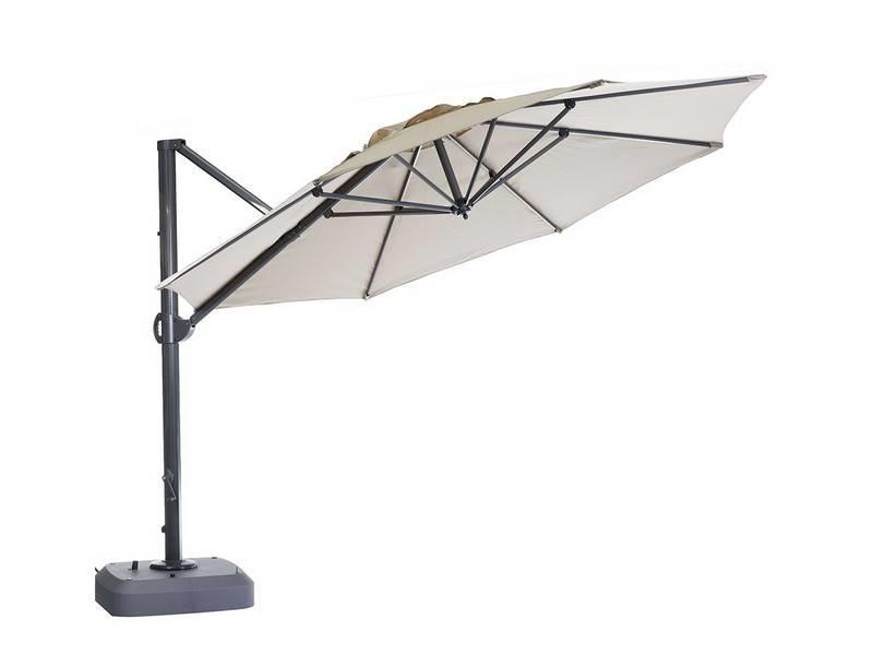 "Parasol "" Usedom 3.5 m Linnen """