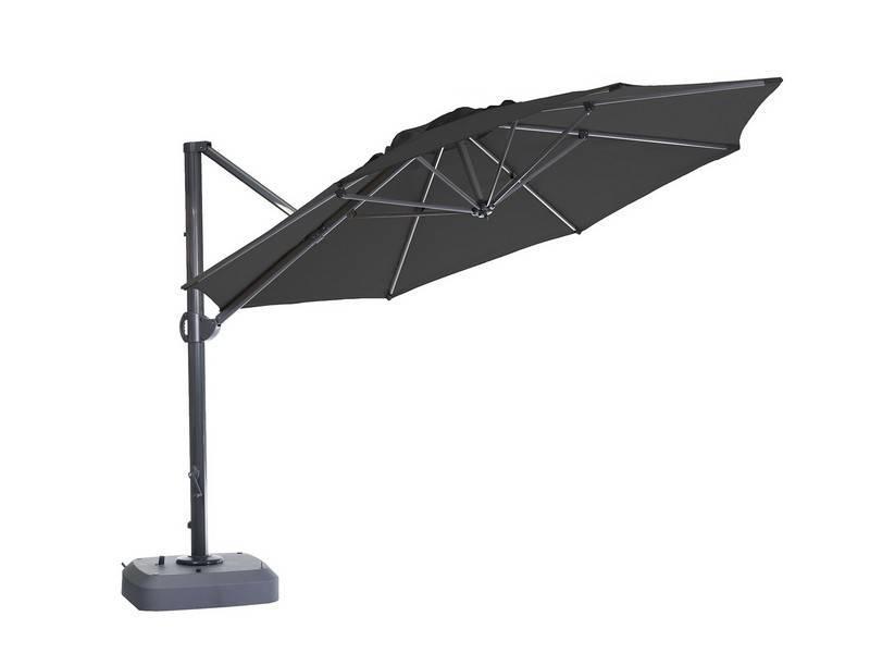"""Parasol """" Usedom 3.5 m Zwart """""""