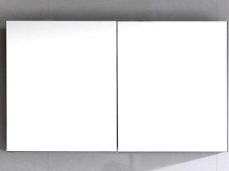 """Spiegelkast """" Gemini 100 x 62 walnut """""""