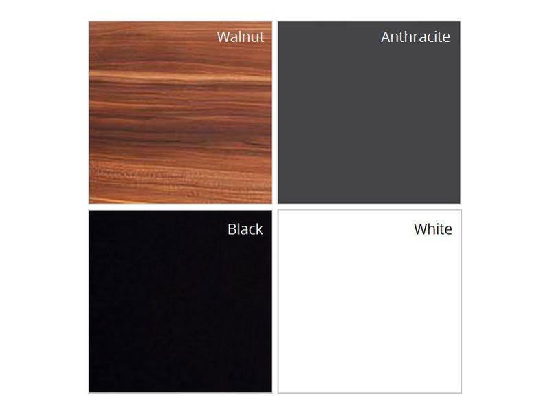 """Spiegelkast """" Chara 66 x 62 black """""""