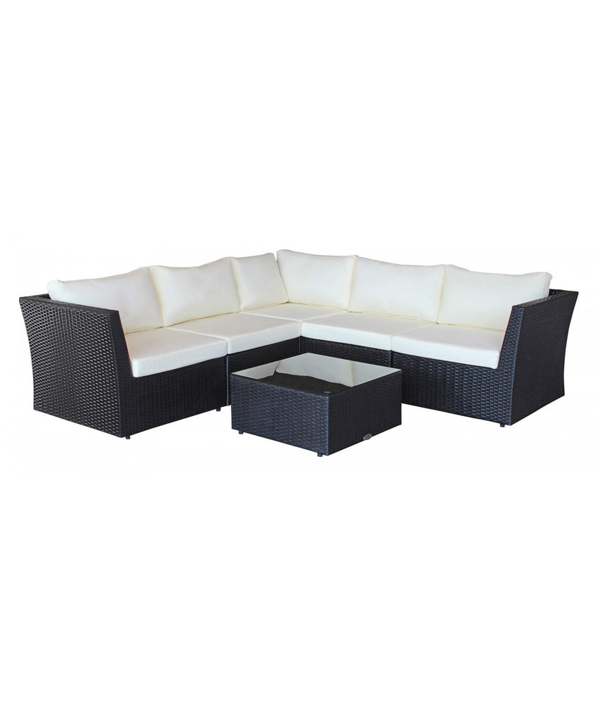 "Loungeset "" Atmosphere Zwart """