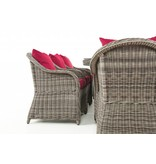 "Tuinset "" Lavello XL Grijs-Rood """