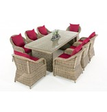 "Tuinset "" Lavello XL Naturel-Rood """