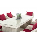 "Tuinset "" Lavello XL Wit-Rood """