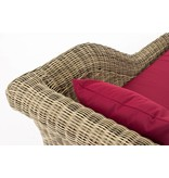 "Chaise longue "" Savannah Naturel-Rood """