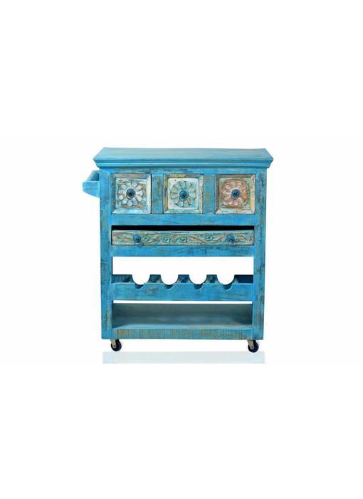 Keukentrolley Blauw - Azul