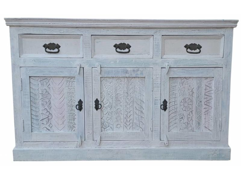 Dressoir Whitewash - Bianco
