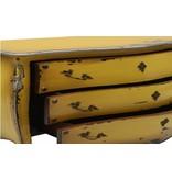 Sidetable geel - Bijoux